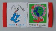 France année 2006 3991 3992 P3991 neuf luxe ** provenant de carnet croix rouge