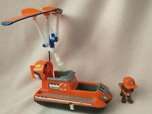 Paw Patrol Ultimate Rescue Zuma Hovercraft With Glider Plus Zuma figure!