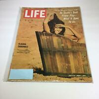 Life Magazine: July 8 1966 Claudia Cardinale, De Gaulle's Bold Power Play