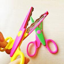 Safety Plastic Bladed Scissors for Children Kids Art Craft Cardmaking Tools