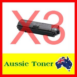 3x Non-Genuine TK-1184 TK1184 Toner Cartridge for Kyocera M2635 M2635DN M2735DW