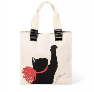 Jason Wu for Target Milu Print Cat Bag Tote Handbag  Limited Edition