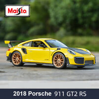 Maisto 1:24 Porsche 911 GT2 RS 2018 Diecast Model Car Collection Toy New In Box