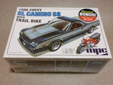 Mpc CHEVROLET El Camino SS with Trail Bike 1986 1/25 Model Kit #17965