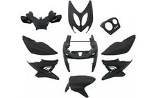 Verkleidungsset Verkleidung 9 Teilig Schwarz Matt für Yamaha Aerox MBK Nitro