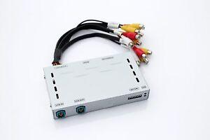 Fits 2010-2013 Infiniti G37 HDMI Video Interface Add Front Cam Smartphone Mirror