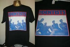 THE DENTISTS- SOME PEOPLE ARE ON THE PITCH... ALBUM  T SHIRT- BLACK- EXTRA LARGE