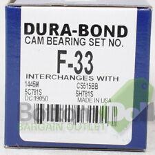 Dura-Bond F-33 Camshaft Bearing Set For Edsel/Ford/Mercury/Shelby