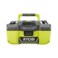 RYOBI We Dry Vacuum 18-Volt 3 Gal. Dry Capacity Accessory-Storage (Tool-Only)