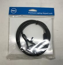 NEW Dell Premium 6FT Universal Laptop Security Keyed Lock Heavy Duty Cable