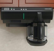 Black & Decker Spacemaker Under the Cabinet 12 Cup Programmable Coffee Maker