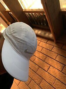 nike dri fit Adv Hat / White / Nike Tailwind Hat