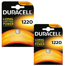 GENUINE 2X DURACELL CR1220 3V LITHIUM COIN CELL BATTERY1220 DL1220 BR1220
