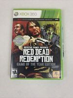 Red Dead Redemption - Game of the Year Edition for Microsoft Xbox 360 CIB