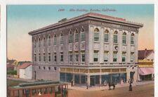 USA, Elks Building, Eureka, California Postcard, B419