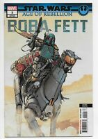 Star Wars Age of Rebellion Boba Fett #1 2nd Print NM 2019 Disney Plus!