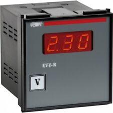 Voltmetro digitale da pannello EVV-R VEMER VM297900