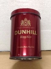 Vintage DUNHILL King Size Filter Cigarette Storage Tin Can