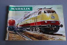 X227 MARKLIN Train catalogue Ho 1966 1967 74 pages 26,8*17,5 cm F
