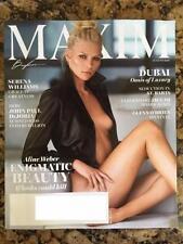 Maxim Magazine USA August 2016 Aline Weber Serena Williams John Paul DeJoria