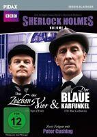 VOL,3: DAS ZEICHE SHERLOCK HOLMES - SHERLOCK HOLMES Peter Cushing  DVD NEU
