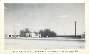 A View Of The Silver Dollar Motel, Hobbs City Limits, New Mexico NM