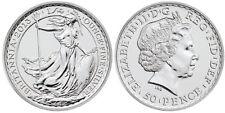 TUBE OF 15 - 2013 Silver 1/4oz SS Gairsoppa coin BU 50 Pence British Royal Mint