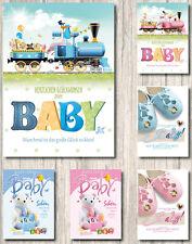 Baby Geburtstagskarten 312070 TA 50 Glückwunschkarten zur Geburt