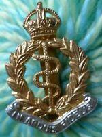 Royal Canadian Army Medical Corps Cap Badge KC Bi-Metal Slider