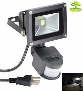 Outdoor Motion Sensor Flood Light Security Lights Safety Home Waterproof Lamp