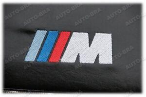 BONNET BRA fit BMW 3 4 F30 F31 F32 F33 F35 F36 since 2012 + M LOGO BADGE EMBLEM
