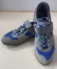 Shimano Road Shoes, Women, Size 36, cycling suede gray blue
