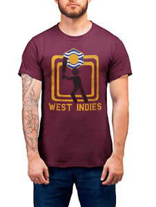 WEST INDIES Cricket World Cup Organic T-Shirt Unisex Square Jersey Top Gift Kit