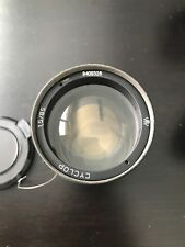 Helios 40-2/CYCLOP H3T-1 85mm f/1.5 with lens cap M42 mount