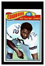 1977 Topps #314 Ed Too Tall Jones Dallas Cowboys NM/MT