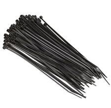 """10000 PCS 4"""" Black Cable Wire Tie 18 Lbs Zip Nylon !!!"""