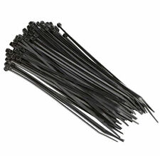 10000 Pack Pcs 4 Black Cable Wire Tie 18 Lbs Strength Zip Nylon Ties Us Ul