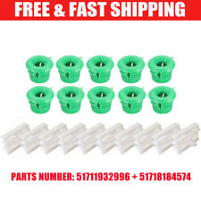 20X SIDE SILL SKIRT TRIM MOULDING CLIPS GROMMET FOR BMW E36 E46 E90 3 Series UK