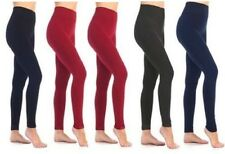 5-pack of Women's Leggings - Slimming Warm Stretch Design - Plus Size *NEW*