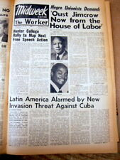15 1961 NY DAILY WORKER Communist propaganda newspapers - CIVIL RIGHTS Berlin ++