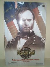SIDESHOW 12 INCH CIVIL WAR UNION ARMY MAJOR GENERAL SHERMAN MIOB