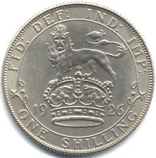 More details for 1926 george v silver one shilling old effigy   pennies2pounds