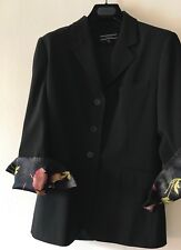 JOSEPH SINGLE BREASTED LINED JACKET SZ 2  Will Fit 10/12. UK. USED