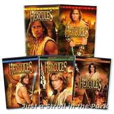 Hercules The Legendary Journeys: TV Series Complete Seasons 1-5 DVD Box Sets NEW