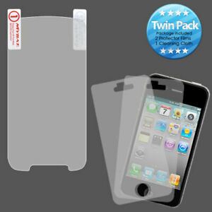 2x LCD Screen Cover Protector Film with Cloth for Motorola Electrify Photon 4G