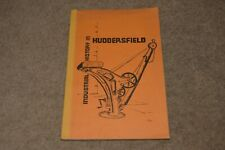 Industrial History In HUDDERSFIELD local history book