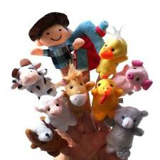 10Pcs Animals Finger Puppets Story Telling Nursery Perfect Kids Christmas Gifts