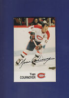 Yvan Cournoyer 1988-89 ESSO NHL All-Stars Hockey #11 (NM+) Montreal Canadiens