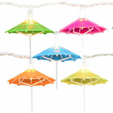 Enfants lanterne Parapluie Forme Abat-jour Garland Home Party Decor Pom Pom Light