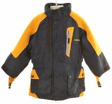 OSHKOSH Boys Ski Jacket 4-5 Years Navy Blue Polyester  N207